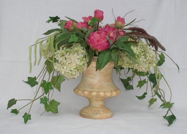 florales lbilder edle kunstblumen arrangements tannenb ume etc blumen gesteck. Black Bedroom Furniture Sets. Home Design Ideas